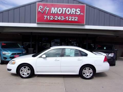 2011 Chevrolet Impala for sale at RT Motors Inc in Atlantic IA