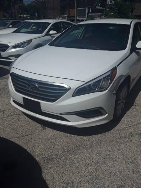 2016 Hyundai Sonata for sale at ECONOMY AUTO MART in Chicago IL