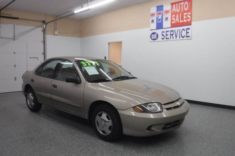 2003 Chevrolet Cavalier for sale at 777 Auto Sales and Service in Tacoma WA