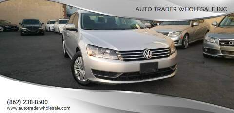 2014 Volkswagen Passat for sale at Auto Trader Wholesale Inc in Saddle Brook NJ