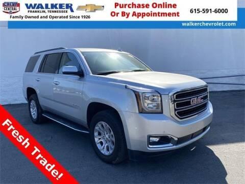 2020 GMC Yukon for sale at WALKER CHEVROLET in Franklin TN