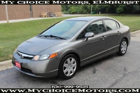 2008 Honda Civic for sale at My Choice Motors Elmhurst in Elmhurst IL