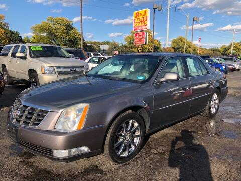 2008 Cadillac DTS for sale at RJ AUTO SALES in Detroit MI