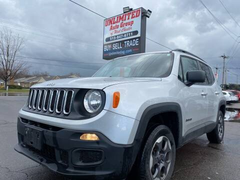 2017 Jeep Renegade for sale at Unlimited Auto Group in West Chester OH