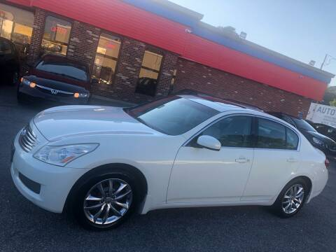 2008 Infiniti G35 for sale at HW Auto Wholesale in Norfolk VA