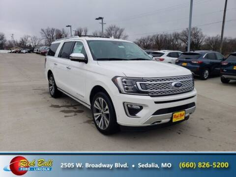 2021 Ford Expedition MAX for sale at RICK BALL FORD in Sedalia MO