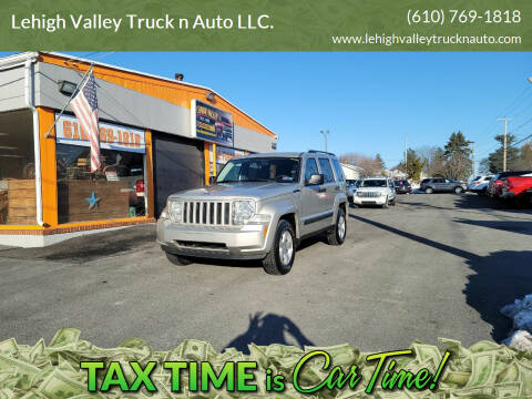 2009 Jeep Liberty for sale at Lehigh Valley Truck n Auto LLC. in Schnecksville PA