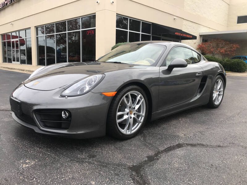 2016 Porsche Cayman for sale at European Performance in Raleigh NC