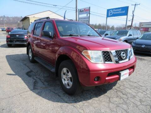 2006 Nissan Pathfinder for sale at Auto Match in Waterbury CT