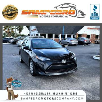 2017 Toyota Corolla for sale at SAMPEDRO MOTORS COMPANY INC in Orlando FL
