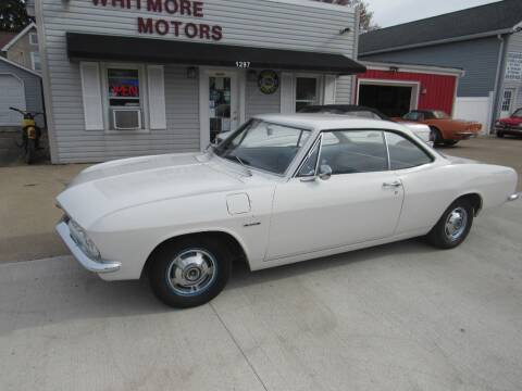 1966 Chevrolet Corvair for sale at Whitmore Motors in Ashland OH