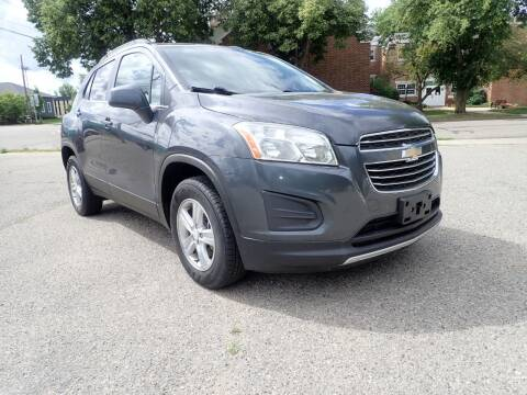2016 Chevrolet Trax for sale at Marvel Automotive Inc. in Big Rapids MI