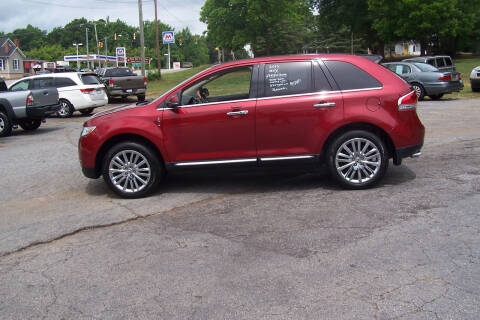 2013 Lincoln MKX for sale at Blackwood's Auto Sales in Union SC