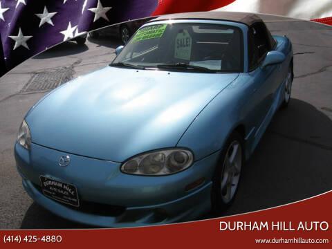 2001 Mazda MX-5 Miata for sale at Durham Hill Auto in Muskego WI