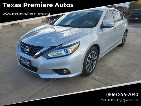2016 Nissan Altima for sale at Texas Premiere Autos in Amarillo TX