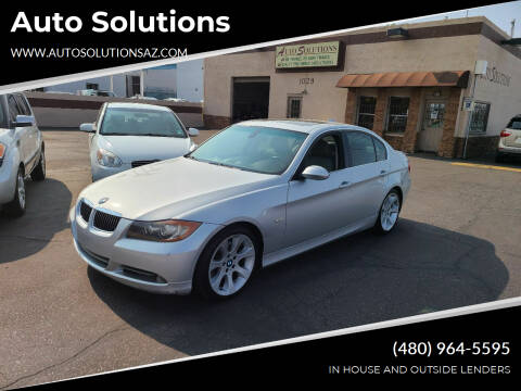 2006 BMW 3 Series for sale at Auto Solutions in Mesa AZ