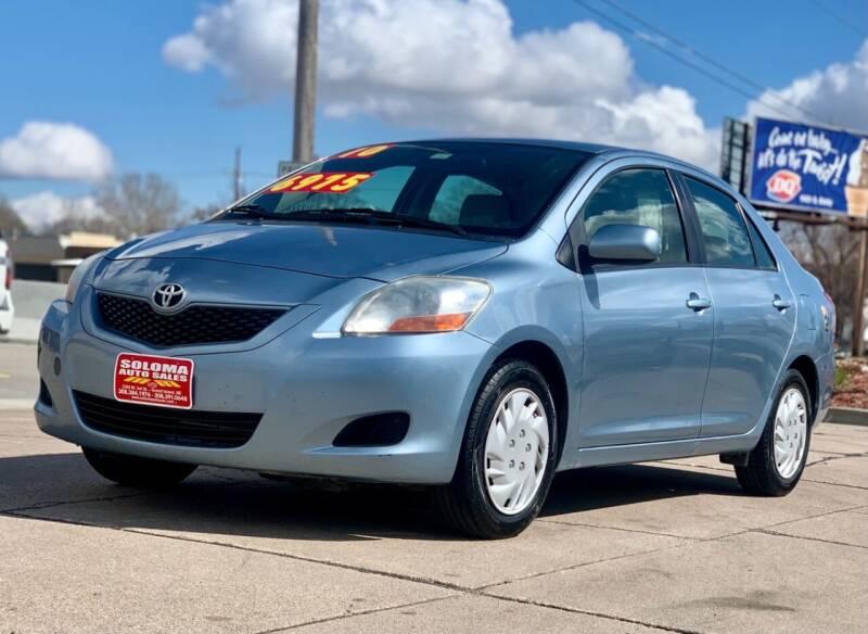 2010 Toyota Yaris for sale at SOLOMA AUTO SALES in Grand Island NE