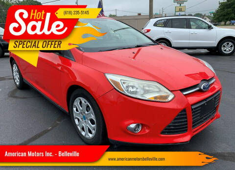 2012 Ford Focus for sale at American Motors Inc. - Belleville in Belleville IL