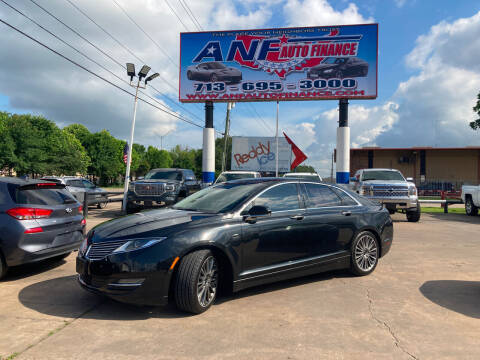 2014 Lincoln MKZ Hybrid for sale at ANF AUTO FINANCE in Houston TX