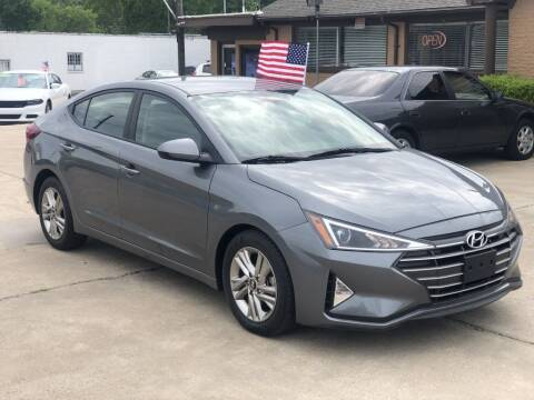 1900 Hyundai Elantra for sale at Safeen Motors in Garland TX