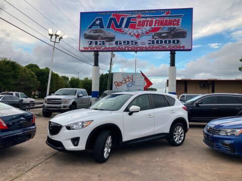 2014 Mazda CX-5 for sale at ANF AUTO FINANCE in Houston TX