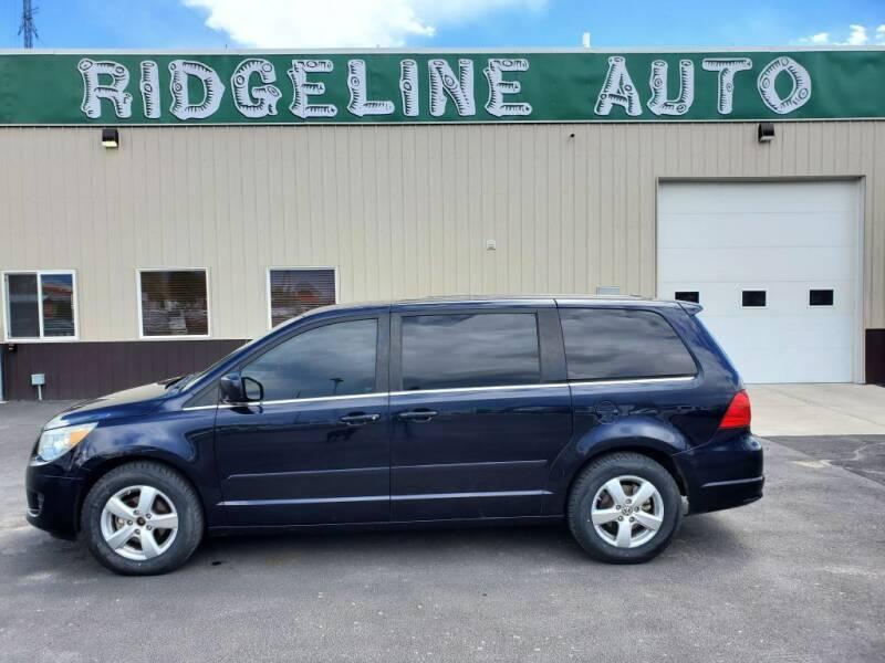 2010 Volkswagen Routan for sale at RIDGELINE AUTO in Chubbuck ID
