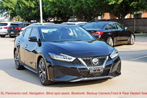 2020 Nissan Maxima for sale at Silver Star Motorcars in Dallas TX