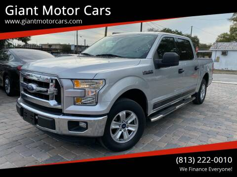 2015 Ford F-150 for sale at Giant Motor Cars in Tampa FL