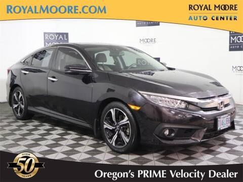 2016 Honda Civic for sale at Royal Moore Custom Finance in Hillsboro OR