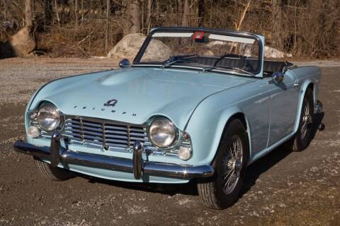 1964 Triumph TR4 for sale at Essex Motorsport, LLC in Essex Junction VT