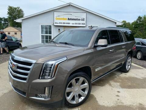 2015 Cadillac Escalade ESV for sale at COLUMBUS AUTOMOTIVE in Reynoldsburg OH