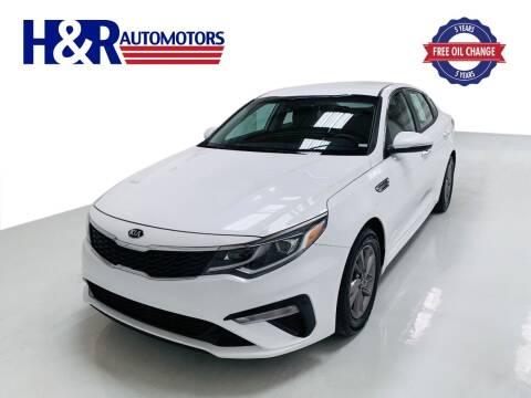 2019 Kia Optima for sale at H&R Auto Motors in San Antonio TX
