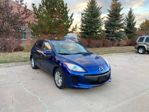 2013 Mazda MAZDA3 for sale at QUEST MOTORS in Englewood CO