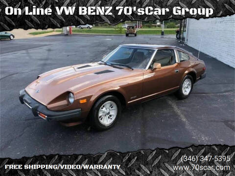 1979 Datsun 280ZX for sale at On Line VW BENZ 70'sCar Group in Warehouse CA