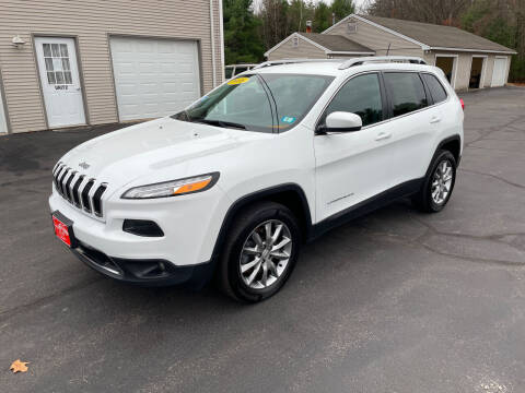 2016 Jeep Cherokee for sale at Glen's Auto Sales in Fremont NH