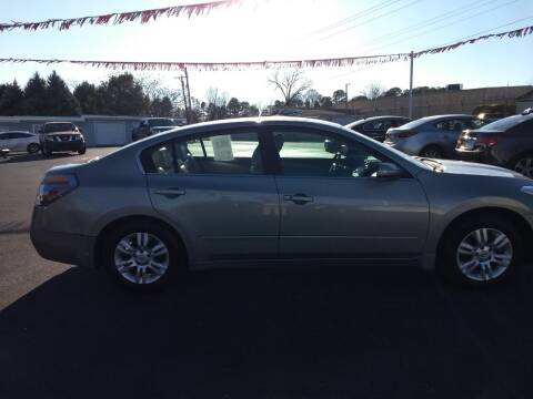 2012 Nissan Altima for sale at Kenny's Auto Sales Inc. in Lowell NC