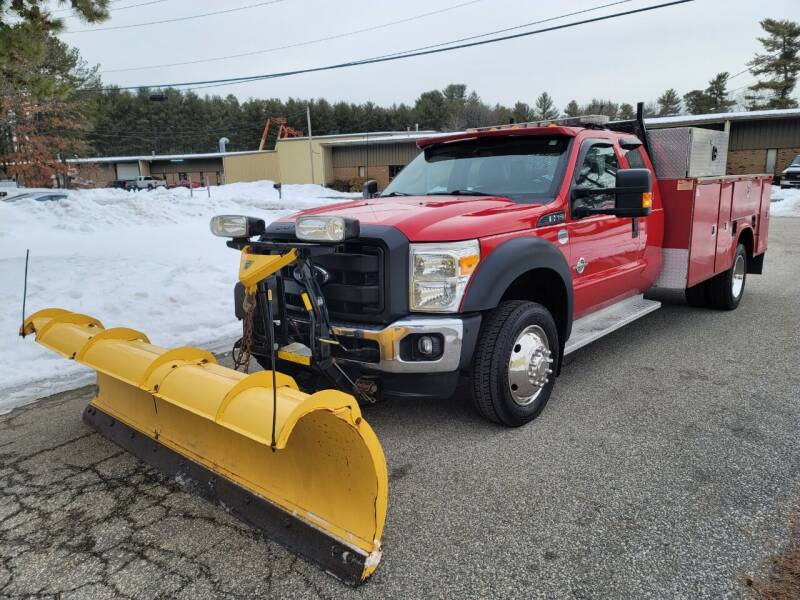 2014 Ford F-550 Super Duty for sale at MILFORD AUTO SALES INC in Hopedale MA