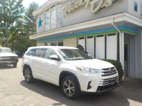 2018 Toyota Highlander for sale at Nicky D's in Easthampton MA