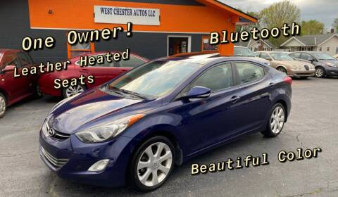 2013 Hyundai Elantra for sale at West Chester Autos in Hamilton OH