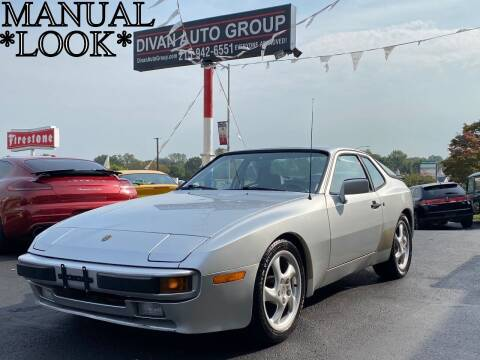 1983 Porsche 944 for sale at Divan Auto Group in Feasterville PA