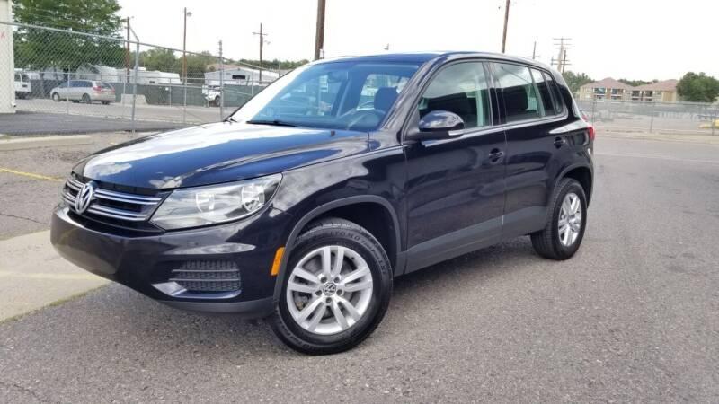 2012 Volkswagen Tiguan for sale at LA Motors LLC in Denver CO