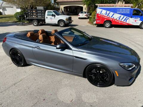 2017 BMW 6 Series for sale at Exceed Auto Brokers in Pompano Beach FL