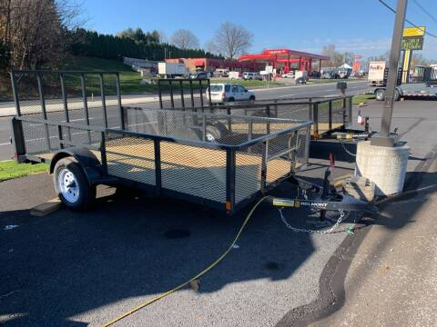 2021 Belmont 6x12 Mesh Side for sale at Smart Choice 61 Trailers in Shoemakersville PA