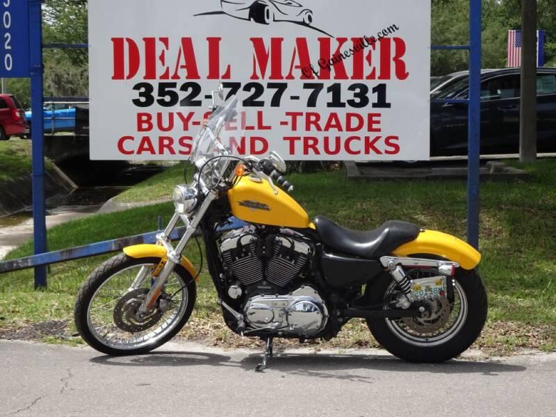 2013 HARLEY DAVIDSON 1200 SPORTSTER for sale at Deal Maker of Gainesville in Gainesville FL