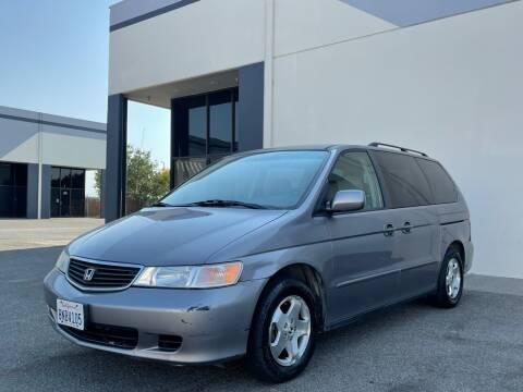 2000 Honda Odyssey for sale at AutoAffari LLC in Sacramento CA