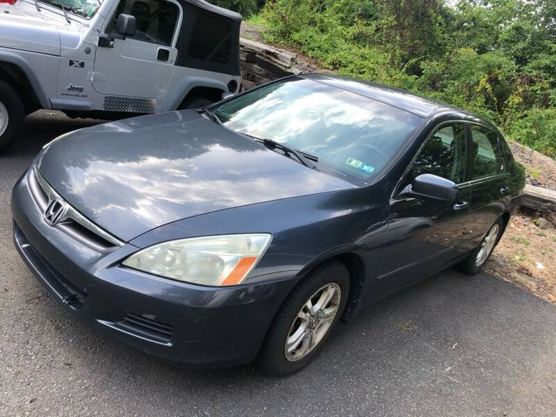 2006 Honda Accord for sale at 22nd ST Motors in Quakertown PA