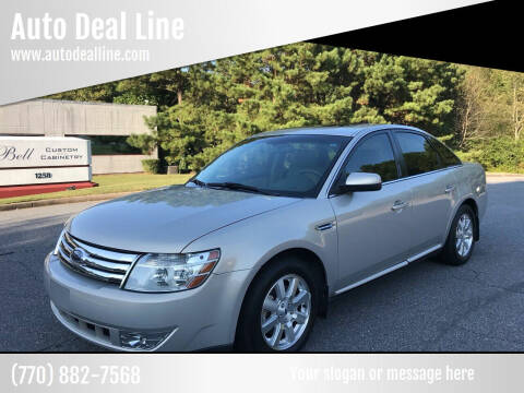 2009 Ford Taurus for sale at Auto Deal Line in Alpharetta GA