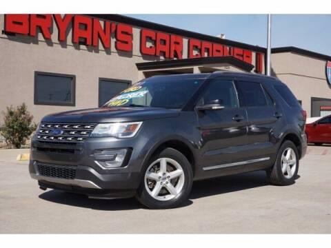 2017 Ford Explorer for sale at Bryans Car Corner in Chickasha OK