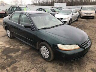 2001 Honda Accord for sale at WELLER BUDGET LOT in Grand Rapids MI