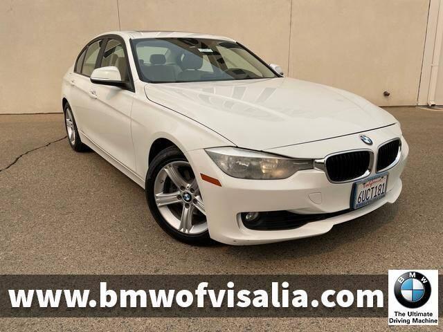 2013 BMW 3 Series for sale at BMW OF VISALIA in Visalia CA